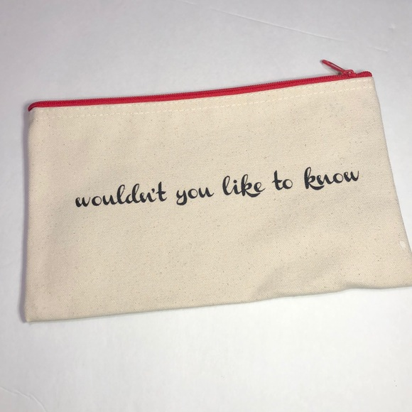 beautycounter Handbags - Beautycounter makeup zipper bag